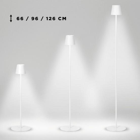 Lampada stilosa da terra usb