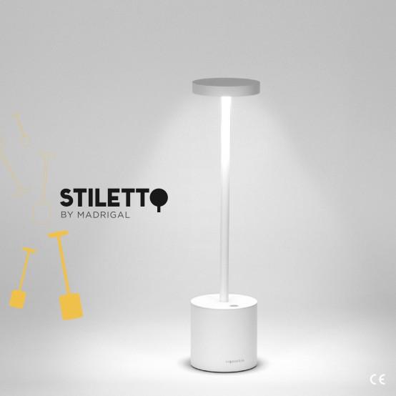 Stiletto - Lampada LED Ricaricabile USB da Tavolo